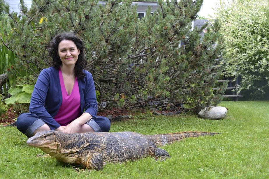 Tammy Verge, animatrice de Fous des animaux, en... (PHOTOS FOURNIES PAR LES FOUS DES ANIMAUX)