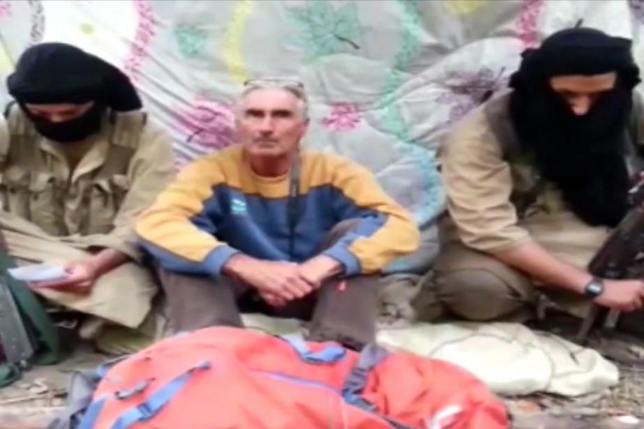 Dans cette vidéo, le groupe djihadiste algérien «Jund... (IMAGE ARCHIVES AFP)