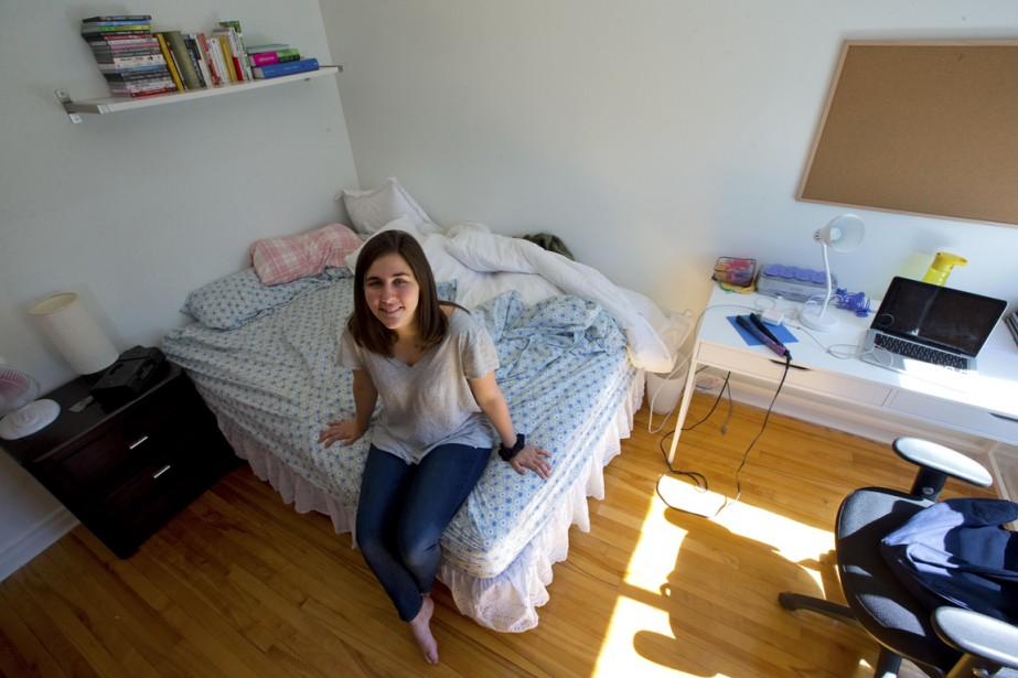 Maryse Goyette s'est installée à Montréal pour poursuivre des études en sociologie. (Photo Alain Roberge, La Presse)