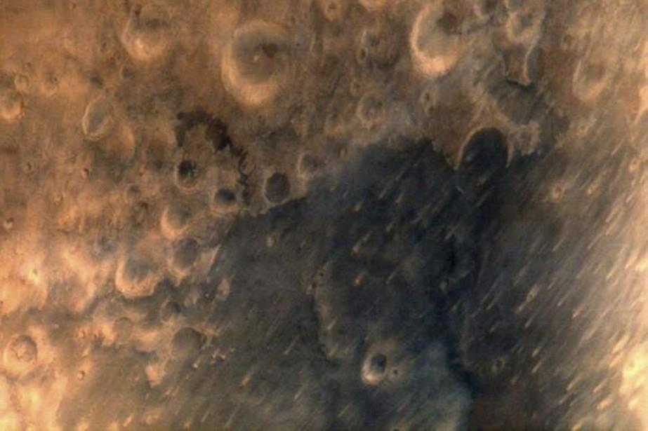 La surface de Mars montrée par la sonde... (PHOTO REUTERS)