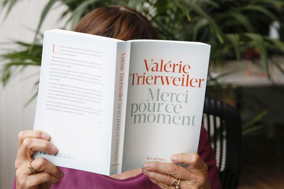Quelque 442 000 exemplaires du livre-confession de l'ex-«première... (PHOTO PATRICK KOVARIK, ARCHIVES AFP)