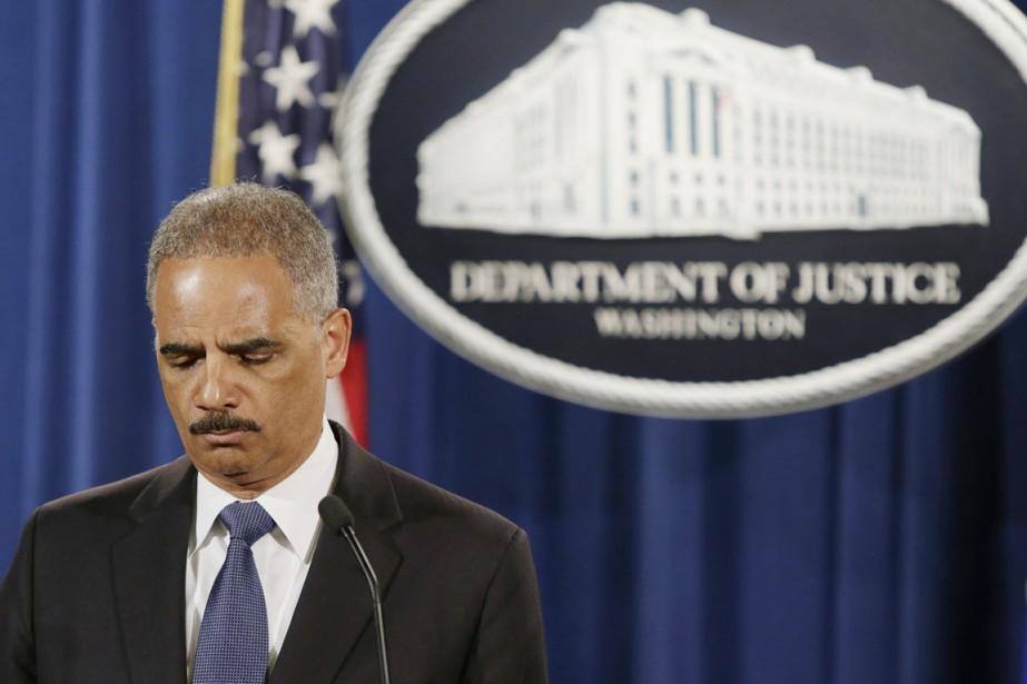 Le ministre américain de la Justice Eric Holder.... (PHOTO GARY CAMERON, ARCHIVES REUTERS)