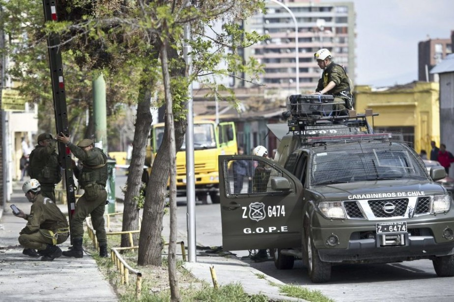 L'explosion a alarmé les habitants du quartier, dont... (Photo AFP)