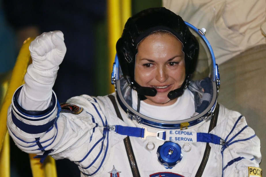 Elena Serova, première femme russe à se rendre... (Photo REUTERS)