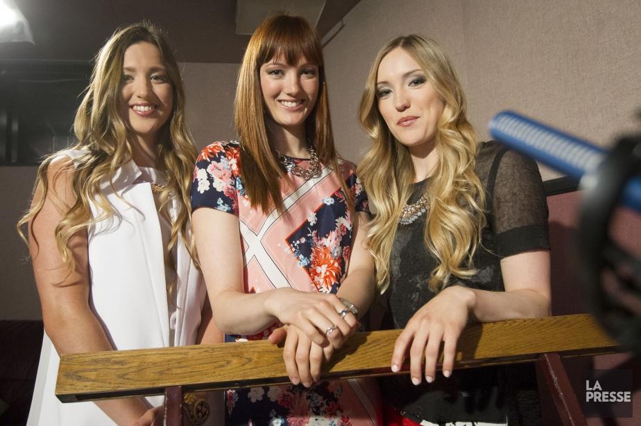 Les soeurs Chloé, Maxime et Justine Dufour-Lapointe deviennent... (PHOTO OLIVIER PONTBRIAND, ARCHIVES LA PRESSE)