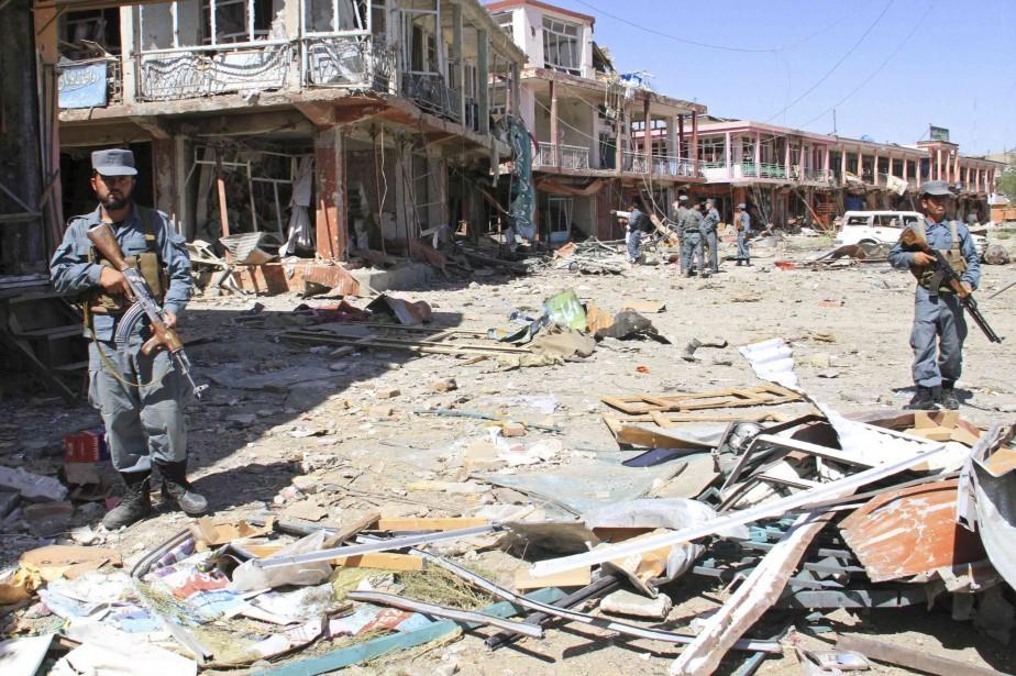 La dernière série d'attaques des insurgés s'est concentrée... (PHOTO MUSTAFA ANDALEB, ARCHIVES REUTERS)