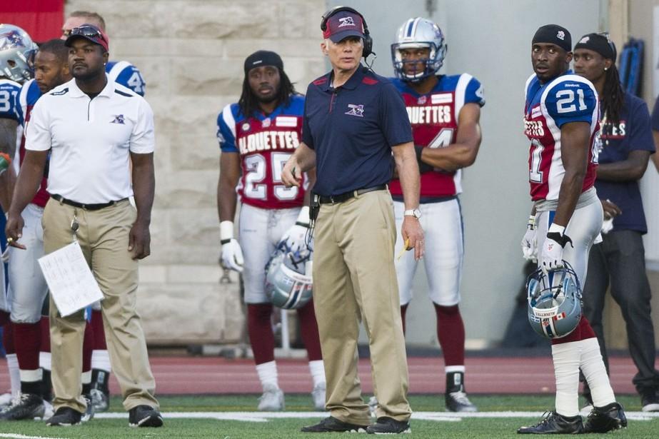 L'entraîneur des Alouettes Tom Higgins est d'avis que... (Photo Graham Hughes, PC)