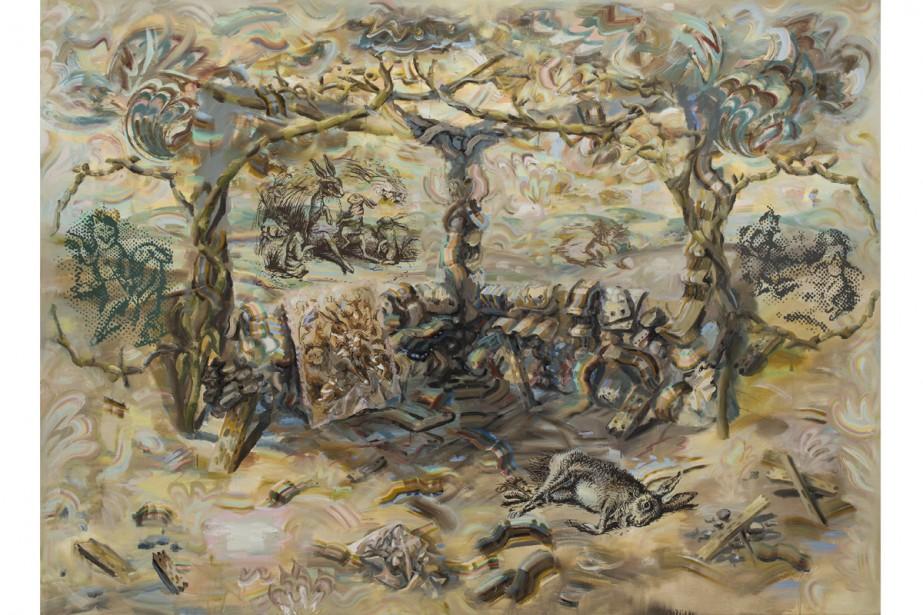 Carol Wainio, <i>Narrative (2010)</i> (Photo: fournie par le Conseil des arts du Canada)