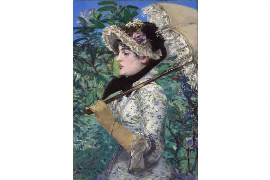 Le printemps d'Édouard Manet... (Photo: AP)