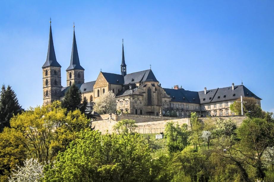 L'abbaye de Michaelsberg a été fondée au XIe siècle. (Photo Jessica Théroux, Collaboration spéciale)