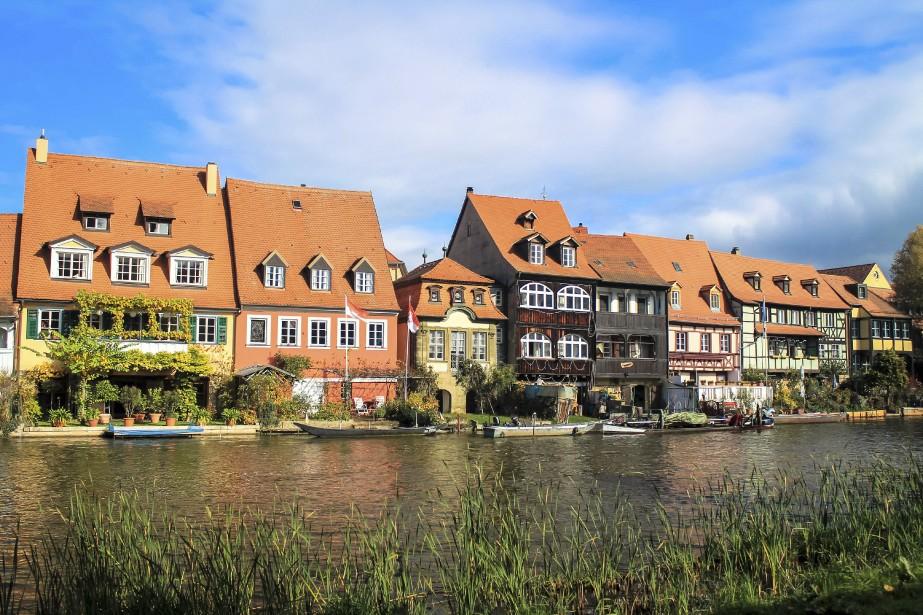 On vous proposera des balades en gondole dans le quartier de la Petite Venise pour découvrir les jolies maisons de Bamberg au fil de l'eau. (Photo Jessica Théroux, Collaboration spéciale)