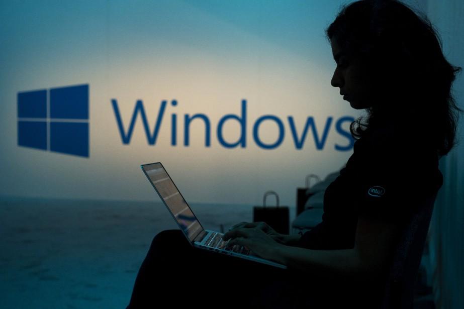 Le groupe informatique américain Microsoft a publié... (PHOTO ARCHIVES BLOOMBERG)