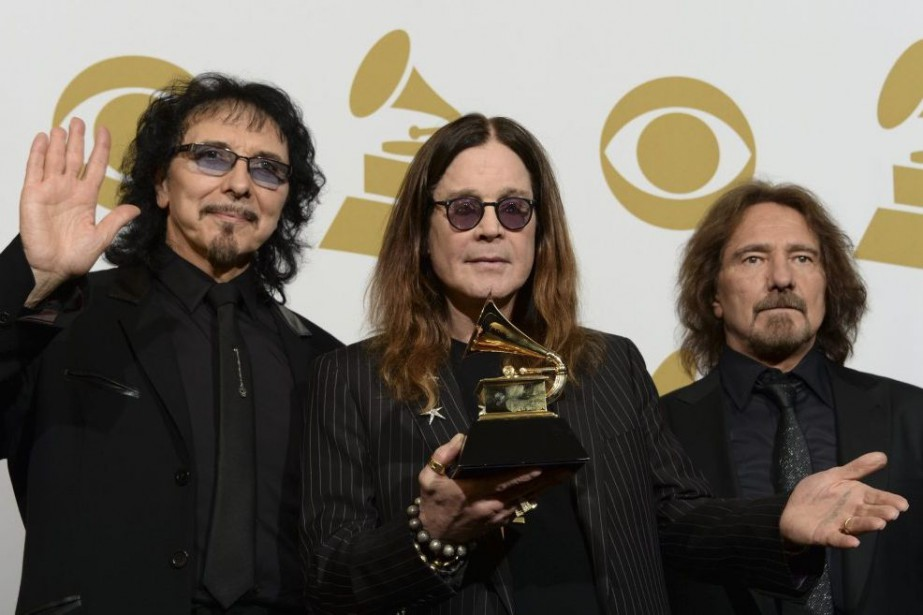 Tony Iommi, Ozzy Osbourne et Geezer Butler de... (PHOTO ARCHIVES AFP)