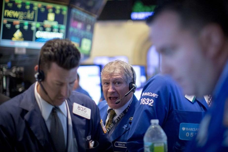 Pour Patrick O'Hare de Briefing.com, les courtiers sont... (PHOTO BRENDAN MCDERMID, REUTERS)