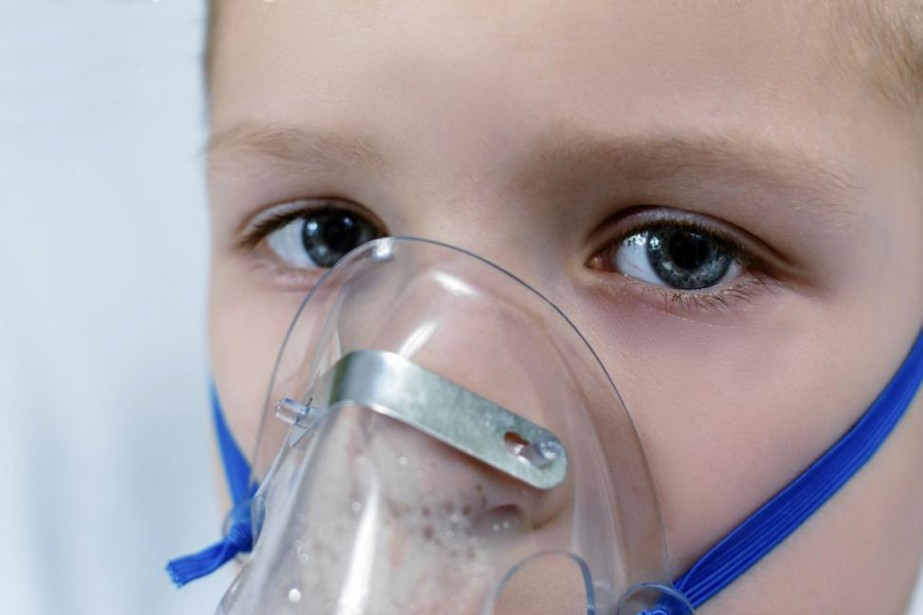 masque respiratoire virus enfant