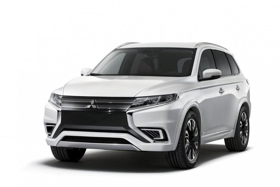 Le Outlander PHEV Concept-S... (Photo fournie par Mitsubishi)