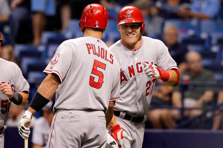 Les Angels ont dominé la division Ouest de... (Photo Kim Klement, USA Today Sports)