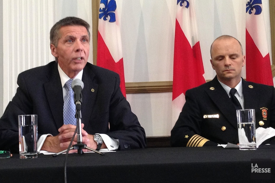 Le président du comité exécutif de Montréal, Pierre... (PHOTO PATRICK SANFAÇON, LA PRESSE)