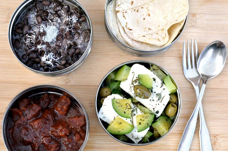 Un exemple de menu mexicain selon Cook Caravan.... (Photo fournie par Cook Caravan)