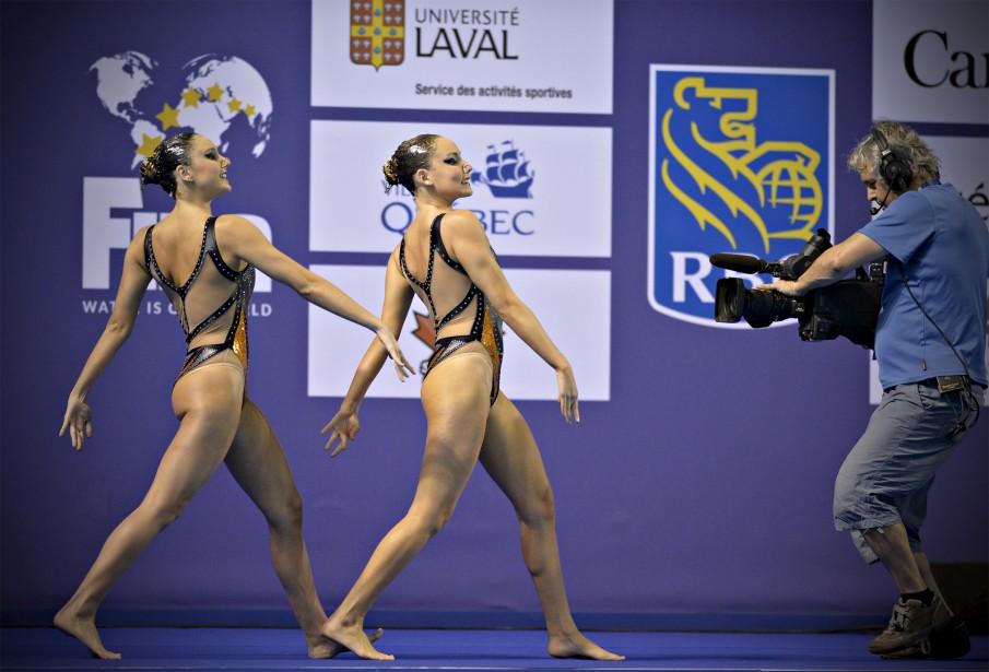 Luisa borges et Maria Eduarda Miccuci du Brésil (2 octobre) (Le Soleil, Pascal Ratthé)
