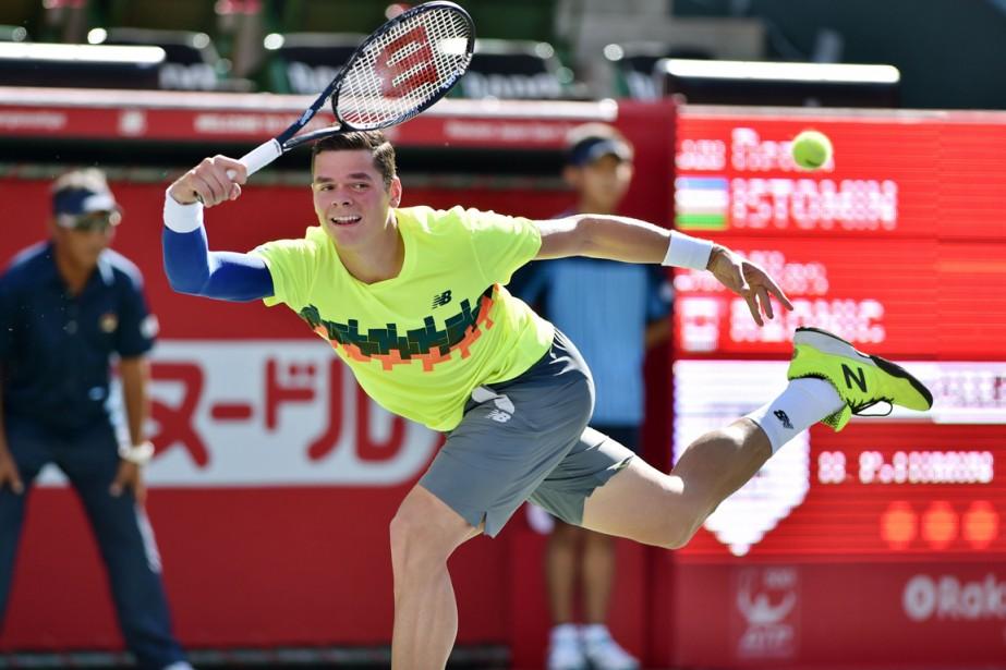 Milos Raonic... (Photo Kazuhiro Nogi, AFP)