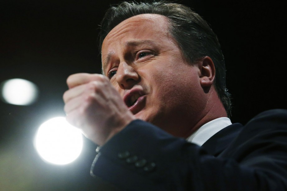 Le premier ministre britannique David Cameron.... (PHOTO LUKE MACGREGOR, ARCHIVES REUTERS)