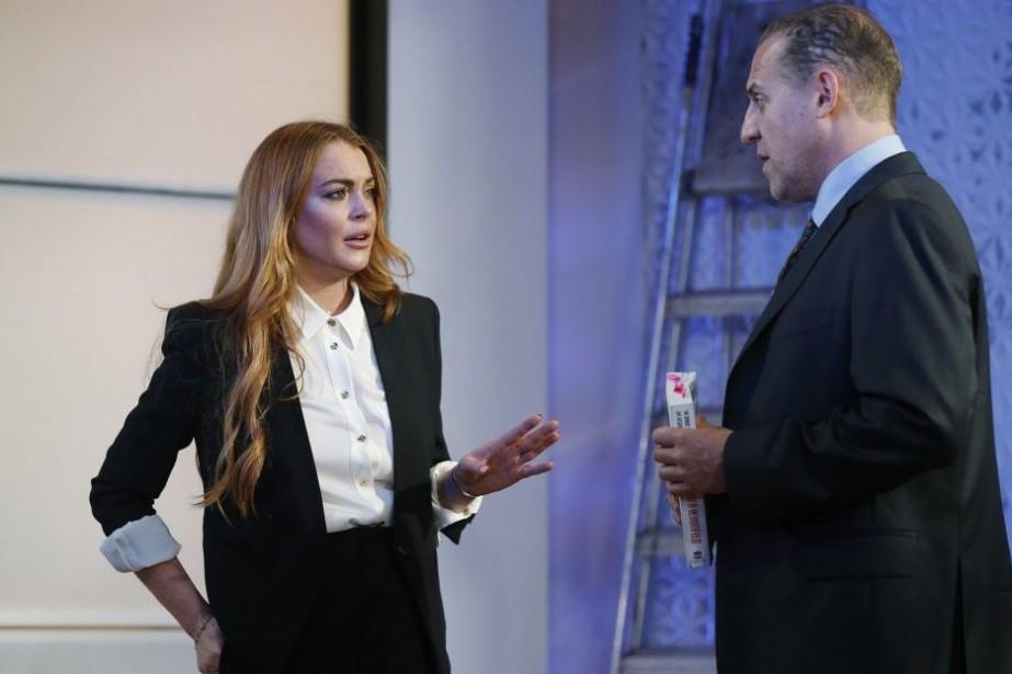 Lindsay Lohan et Nigel Lindsay dans une scène... (Photo: Reuters)