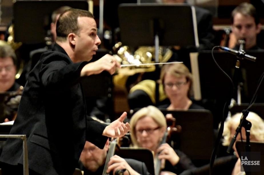 Le chefde l'Orchestre MétropolitainYannick Nézet-Séguin.... (PHOTO BERNARD BRAULT, LA PRESSE)
