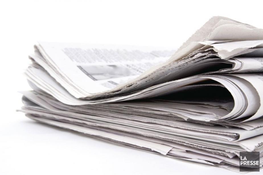La presse écrite devrait recevoir une bouffée d'air... (Photo Archives La Presse)