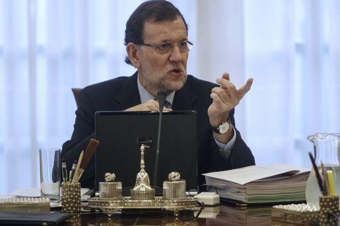 Le premier ministre de l'Espagne, Mariano Rajoy.... (PHOTO ANDREA COMAS, REUTERS)