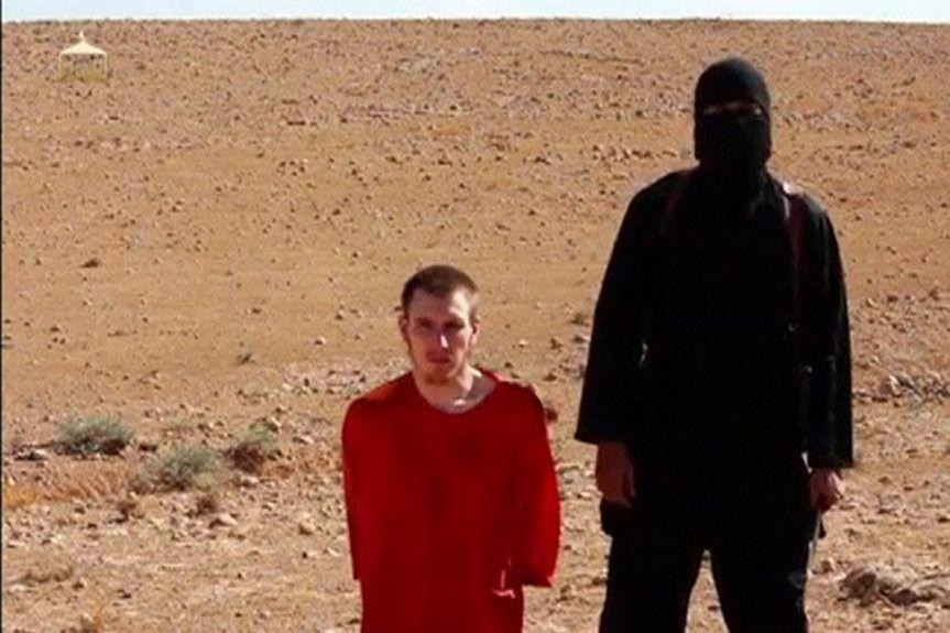 Peter Kassig, un ancien combattant en Irak, est... (PHOTO REUTERS TV)