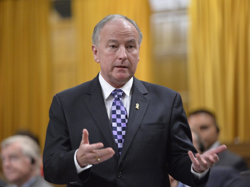 Le ministre de la Défense, Rob Nicholson... (PHOTO ADRIAN WYLD, ARCHIVES LA PRESSE CANADIENNE)