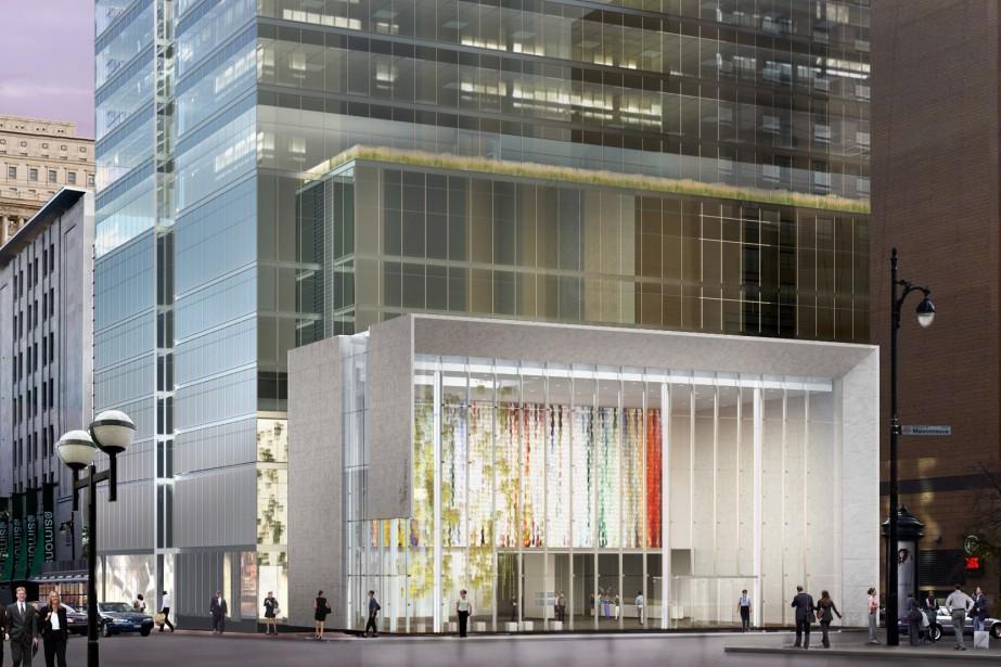 L'immeuble permettra de combler l'un des derniers terrains... (Illustration fournie par Ivanhoé Cambridge)