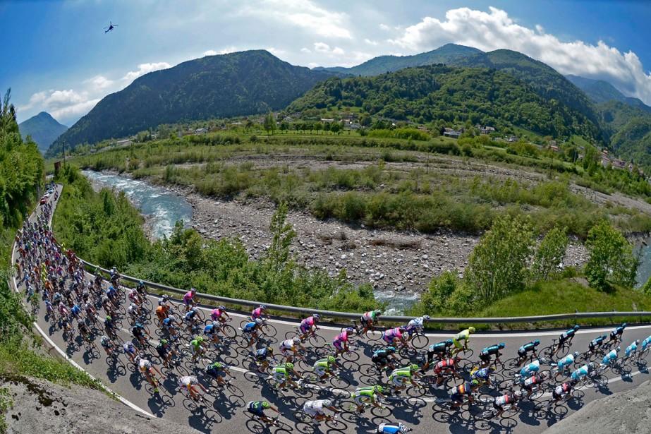 Le parcours de l'édition 2015 du Tour d'Italie... (Photo Fabio Ferrari, archives AP)