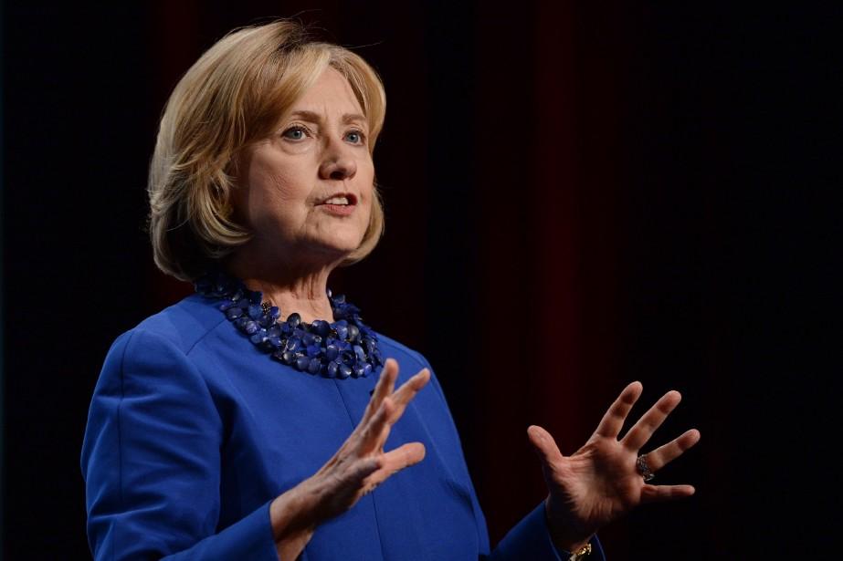 Mme Clinton juge que la contribution du Canada... (Photo Sean Kilpatrick, PC)