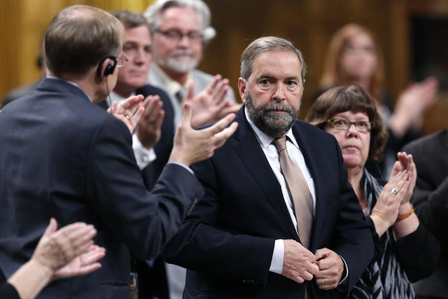 Le chef du NPD, Thomas Mulcair... (Photo CHRIS WATTIE, Reuters)