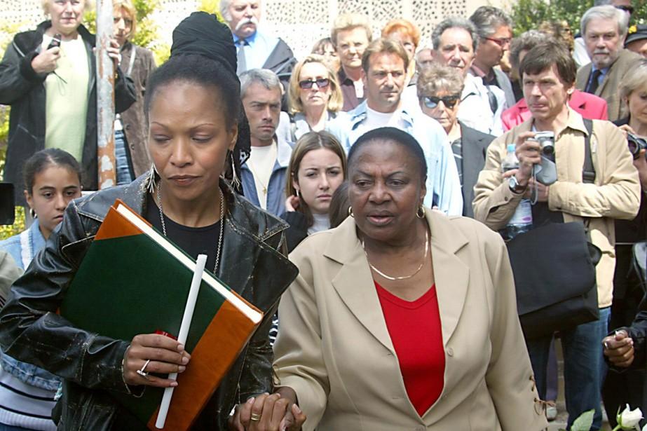 Lisa Simone (à gauche) en compagnie de Myriam... (Photo: archives AFP)