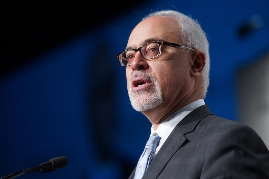 Le ministre des Finances du Québec, Carlos Leitao... (Photo Mario Beauregard, La Presse Canadienne)