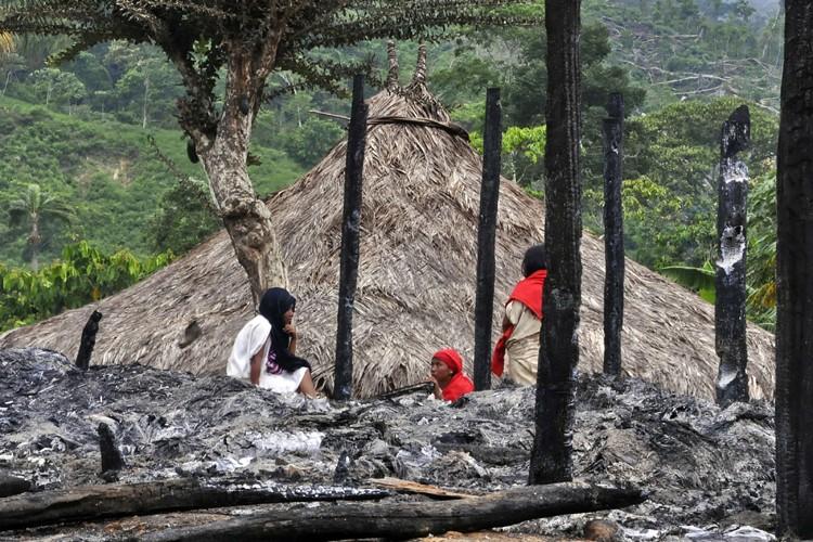 «J'ai eu l'impression que la nature reprenait ce qu'on lui a... (Photo: AFP)