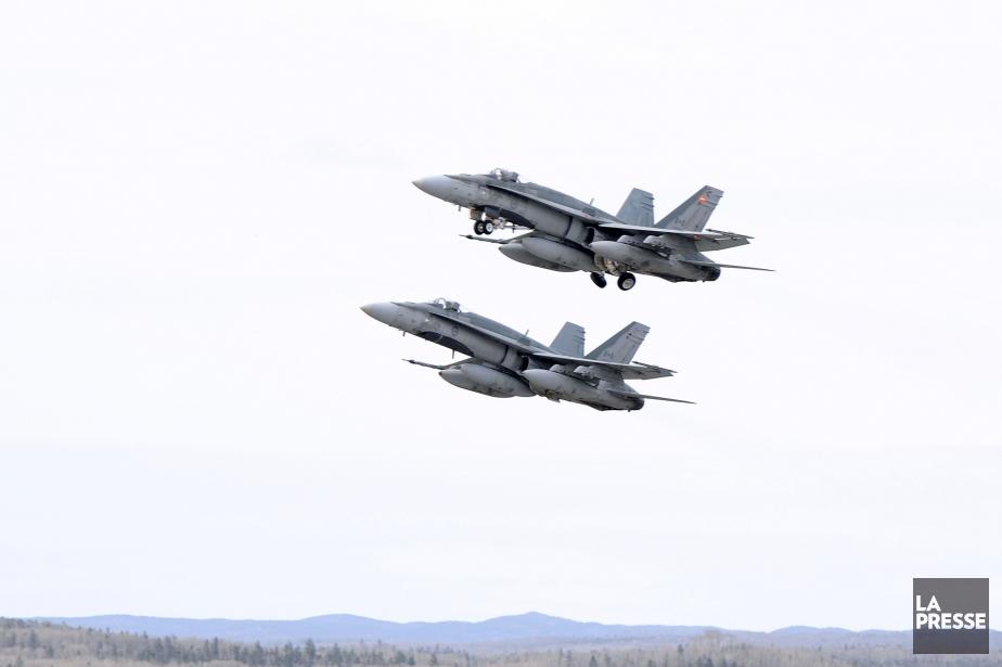 Des avions CF-18.... (Photo d'archives)