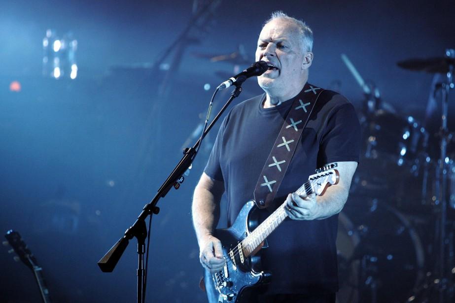 David Gilmour, guitariste du groupe Pink Floyd... (PHOTO ARCHIVES AP)