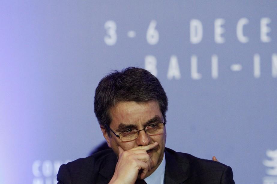 Roberto Azevedo,directeur général de l'Organisation mondiale du commerce... (Photo Edgar Su, Reuters)