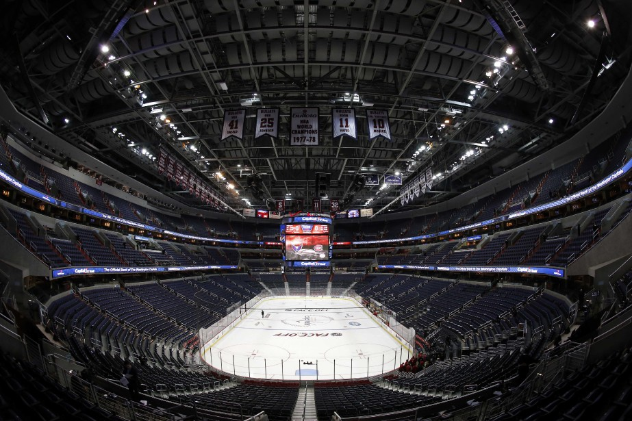 Vue du Verizon Center avant la rencontre. (Photo Geoff Burke, USA Today)