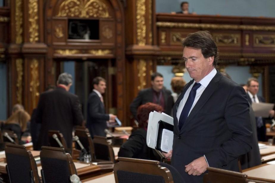 Pierre Karl Peladeau... (PHOTO JACQUES BOISSINOT, LA PRESSE CANADIENNE)