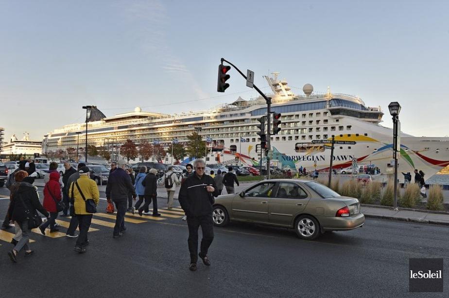 Le Port de Québec se dirige vers un... (Photo Pascal Ratthe, Archives Le Soleil)