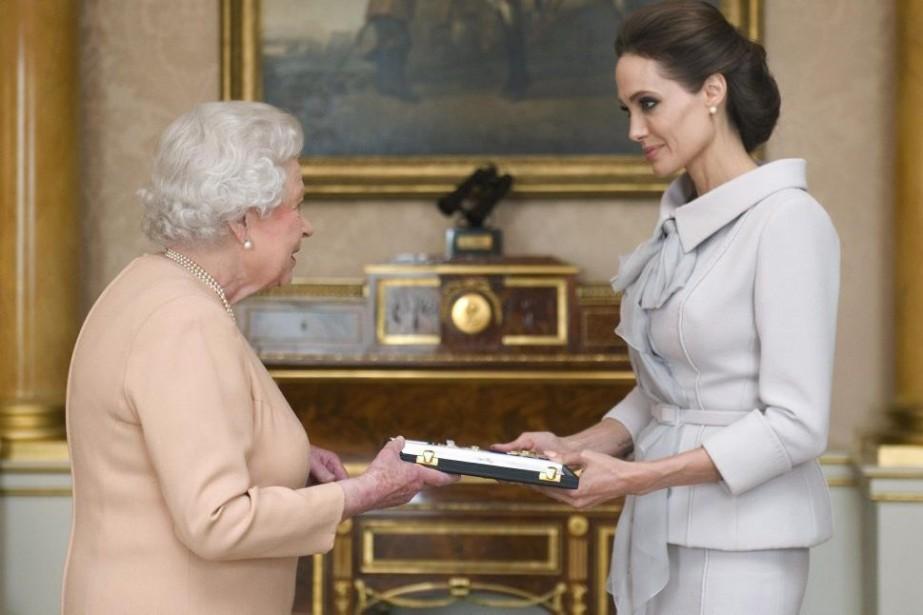 L'actrice et réalisatrice américaine Angelina Jolie a reçu... (Photo: Reuters)