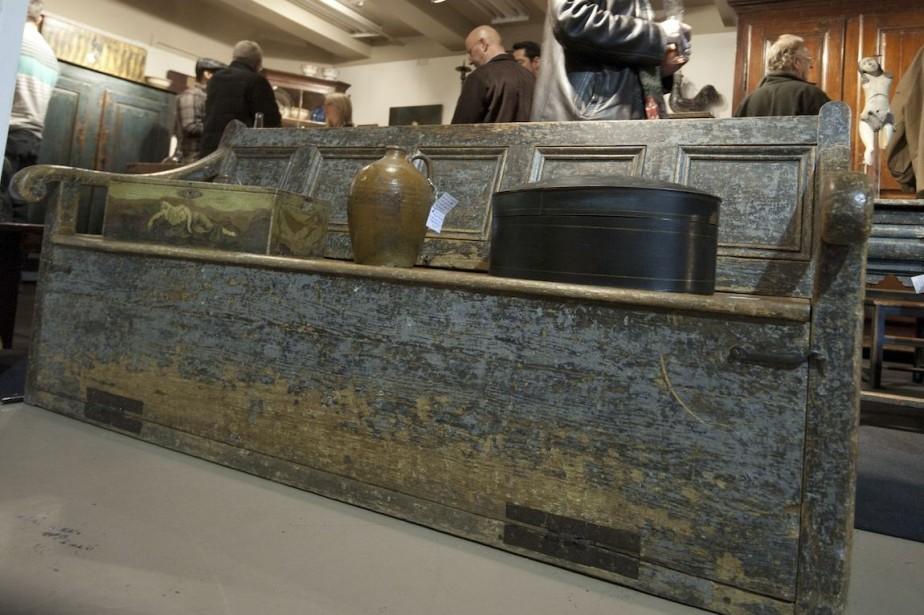 Le cinquième Salon d'antiquités du Vieux-Montréal battra son... (Photo fournie par Magalie Dagenais)
