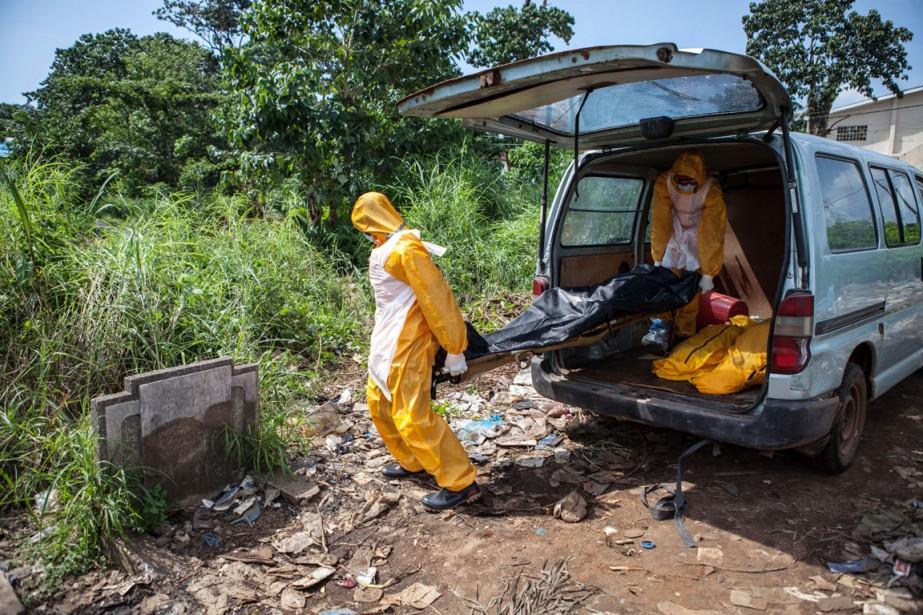 En Sierra Leone,930 personnes sont mortes sur 2950... (PHOTO FLORIAN PLAUCHEUR, AFP)