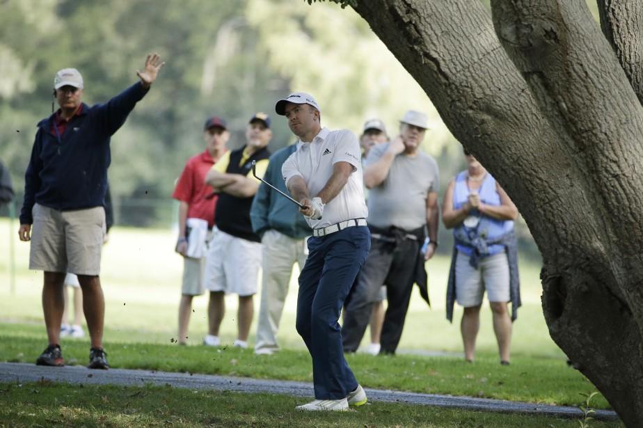 Laird s'est racheté après son premier boguey de... (Photo Eric Risberg, AP)