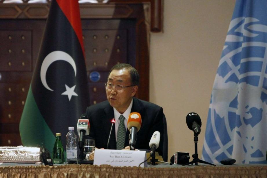«Il n'y a pas d'alternative au dialogue», a... (PHOTO ISMAIL ZITOUNY, REUTERS)